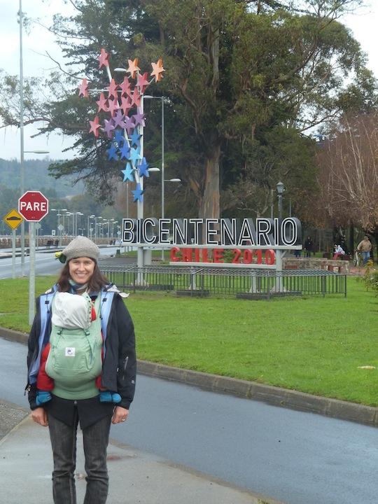 Bicentennial Promenade in Villarrica, Chile