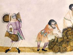 Simulating Intergenerational Mobility Amongst the English Medieval Peasantry