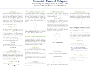 Geometric Flows of Polygons