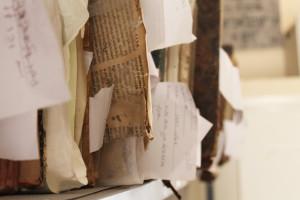 Genizah materials at the Casablanca Jewish Museum